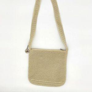 The Sak Classic knit bag cream